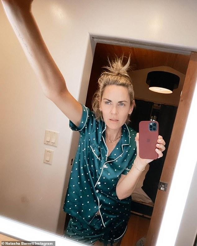 Strike a pose: Barrett enjoys sharing fun-filled snaps onto her Instagram account