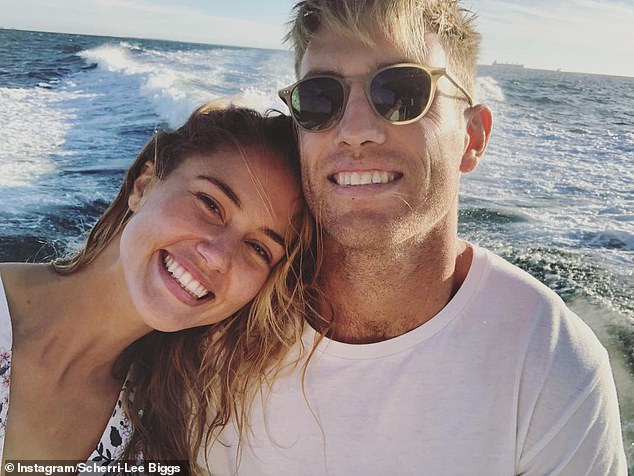 Flashback:For a period of time, she made headlines for becoming a WAG after dating AFL star Brad Sheppard from the West Coast Eagles, but the couple have since split