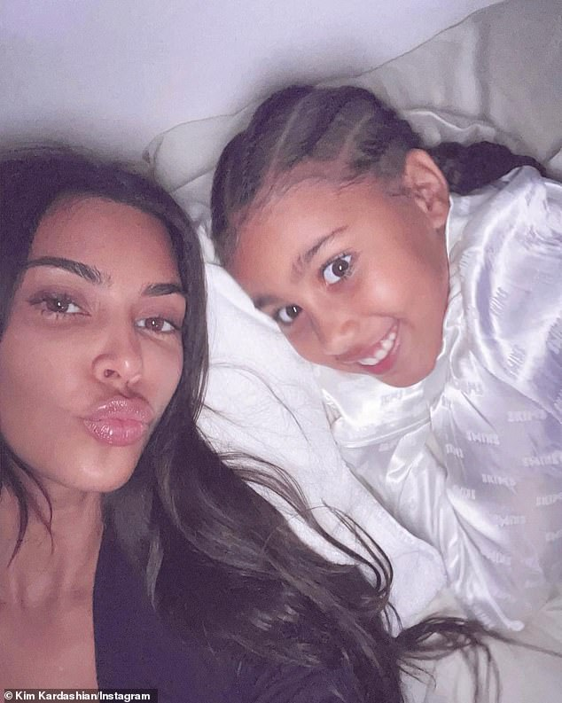 Gemini: Meanwhile, Kim and her estranged third husband Kanye West will next celebrate the eighth birthday of their eldest child, North West (R, pictured May 5), on June 15