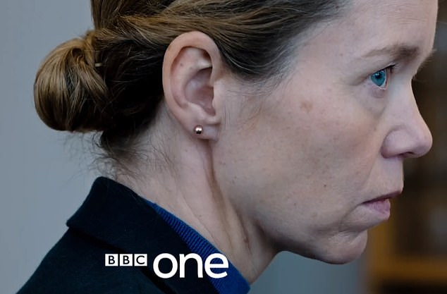 Terrifying:She won huge praise for her role as frosty DCI Patricia Carmichael in Line Of Duty