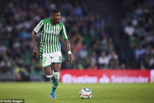 The 22-year-old has spent the last two seasons on loan at Betis after the two clubs announced a joint-ownership deal in 2019
