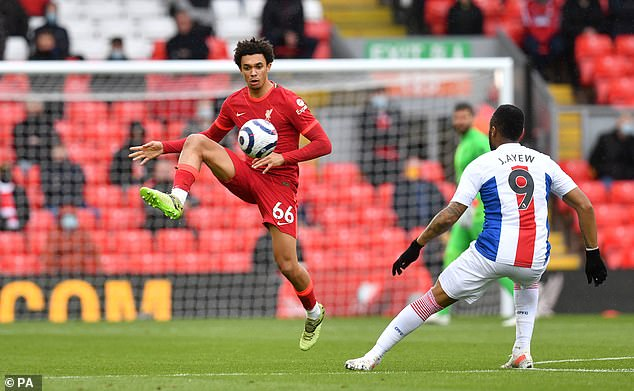 The youngster's composure on the ball has proved vital to Liverpool's success in recent years