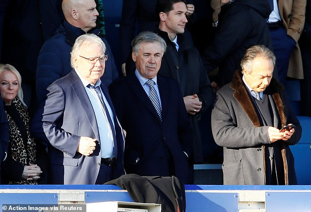 It was not what Farhad Moshiri (R) envisaged when appointing Ancelotti in December 2019