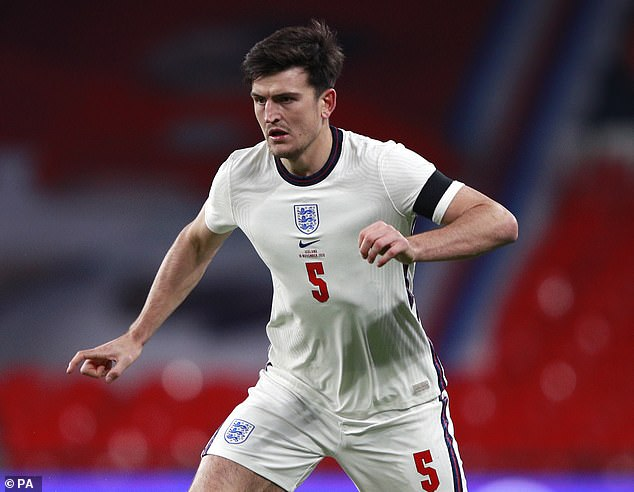 Maguire is currently racing to be fit for England's first group game against Croatia on June 13
