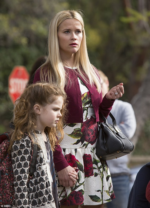 Silver screen siren: Winslet seems to shake off the gloss that Reese Witherspoon can't help but bring to her TV turns [pictured in Big Little Lies]