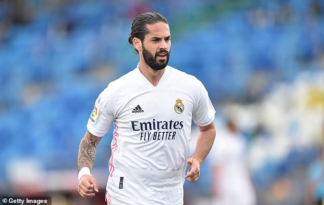 The club are keen for Isco to move on although there are currently no takers for the 29-year-old