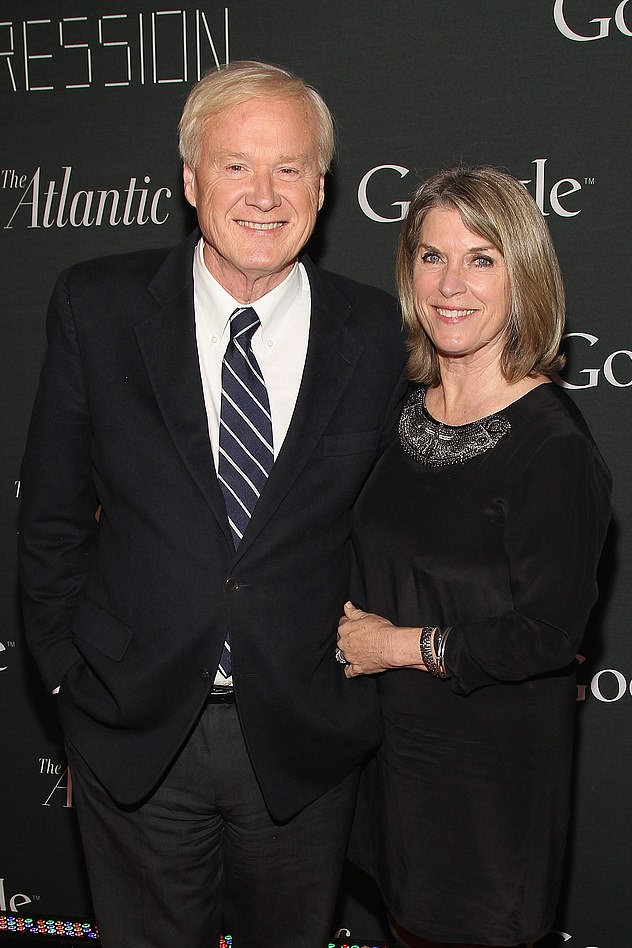 Matthews with his wife, Kathleen. He said he is grateful to have had the last two years to work on his book