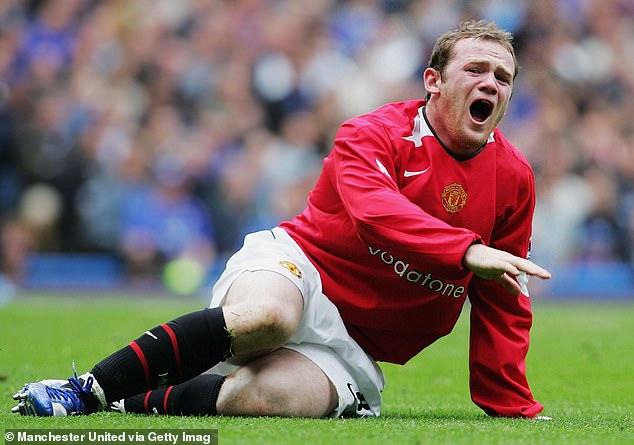 Wayne Rooney broke his metatarsal playing for Man United against Chelsea in April 2006