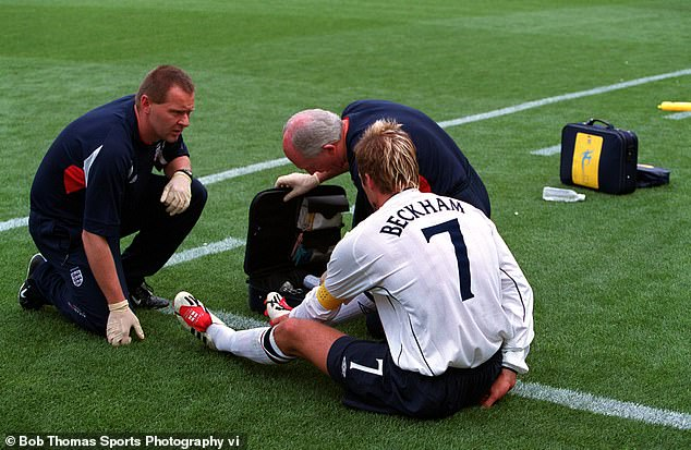 Beckham, despite his injury doubts, played in most of England's 2002 World Cup campaign