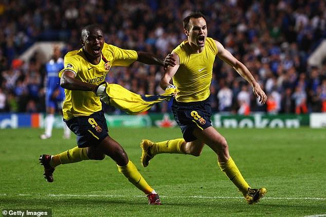 Iniesta's last-gasp strike at Stamford Bridge saw Barcelona reach the final in dramatic fashion
