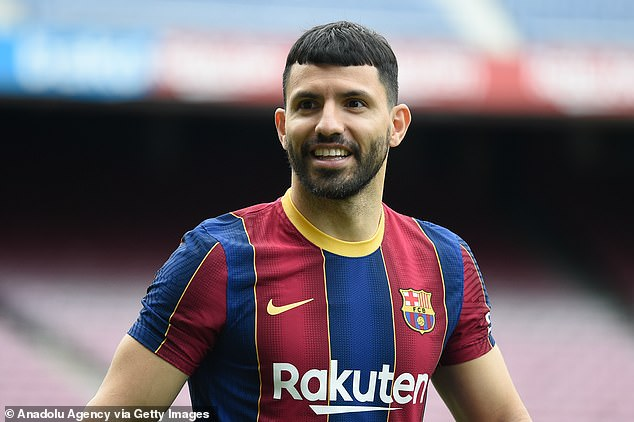 Sergio Aguero does not have Covid after producing a false positive test on his 33rd birthday