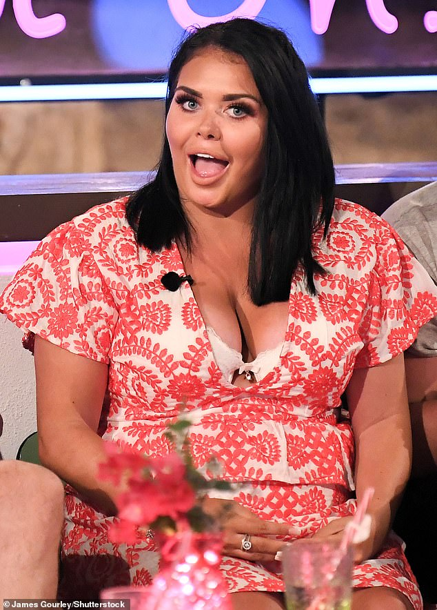 Awful:Scarlett was horrified to see vicious abuse from trolls about her weight after her appearance on the Aftersun (pictured on the show in 2018)
