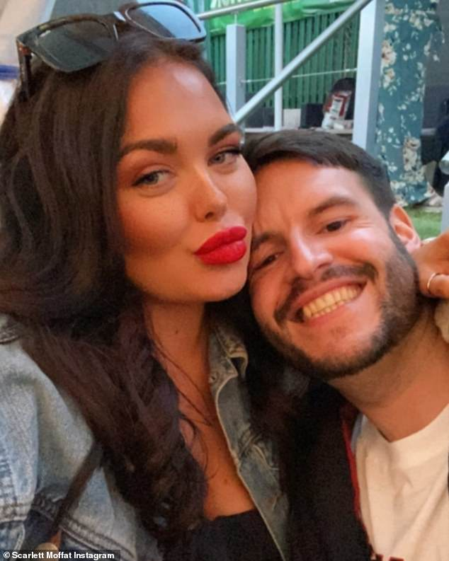Happy couple: Scarlett and Scott began dating in 2019 and recently moved into their dream home together earlier this year