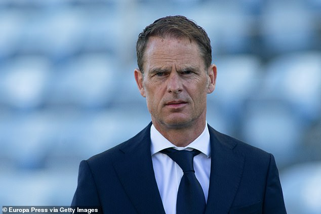 Frank de Boer will be far from convinced after his side just about salvaged a draw in Portugal