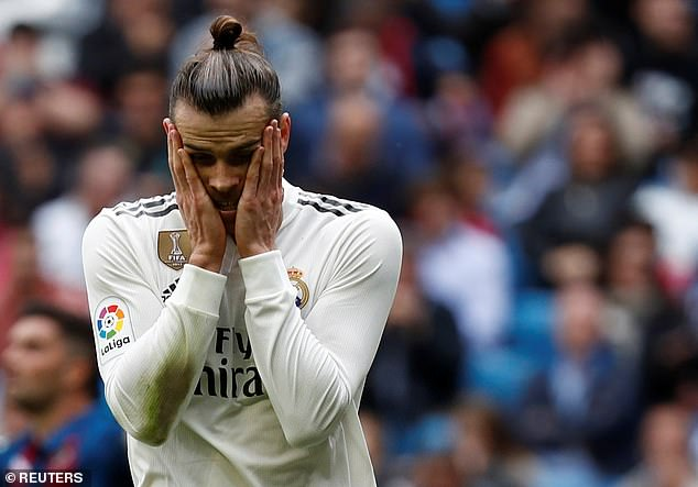 The Welshman has fallen out of favour in the Spanish capital under old boss Zinedine Zidane