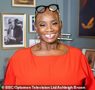 Star appearance: Andi Oliver also attended filming but it is not known if she came into contact with the Covid positive crew member