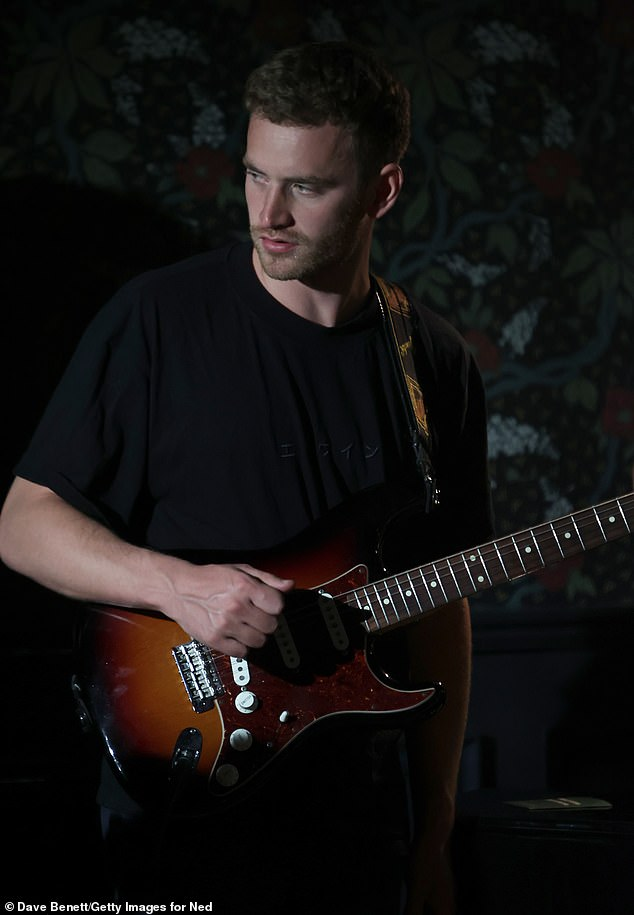 Music: Musician Tom Misch entertained the guests for the evening at the London event