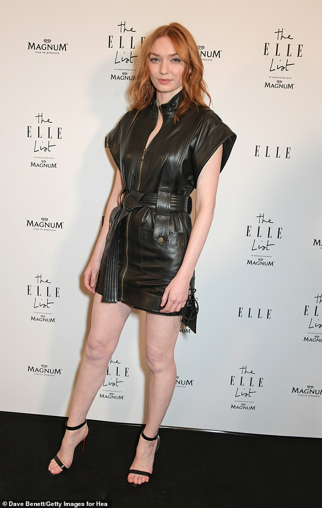 We are more used to seeing Eleanor Tomlinson (pictured), 29, playing the impoverished mine-owner¿s wife, flame-haired Demelza, in the long-running BBC TV series Poldark. But in reality the actress has no fewer than two homes and a bank balance the dashing Cornish Captain would envy