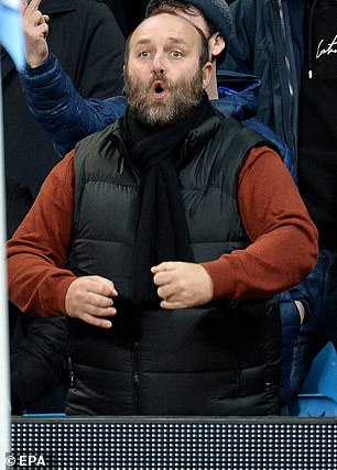 Manchester City fan Burke was seen making monkey gestures at the Manchester Derby in December 2019