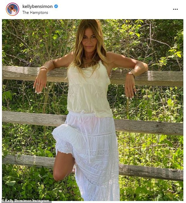 Reality star: Bensimon left RHONY in 2011 after three seasons. She went on to get her real estate license and is now back on Bravo TV as part of the cast of Million Dollar Listing New York