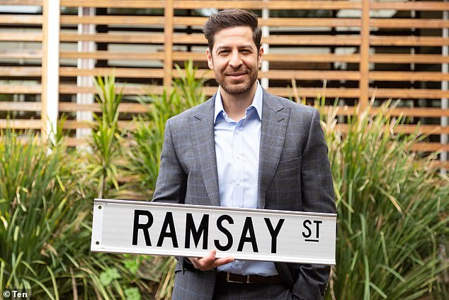 Too easy! In November Don Hany returned to Neighbours after replacing Tim Robards in the role of Pierce Greyson. Speaking to Now To Love, Don Hany admitted he felt at home as soon as he returned to the Melbourne set. 'It's like putting on a pair of old socks,' he said