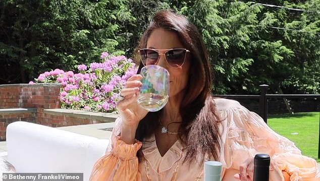The former Real Housewives Of New York City star noted that she was the first female celeb to market an alcohol brand