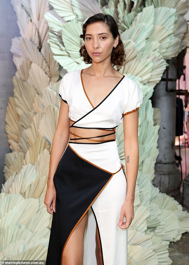 In the spotlight: Vanessa has been a firm fixture at this year's Australian Fashion Week
