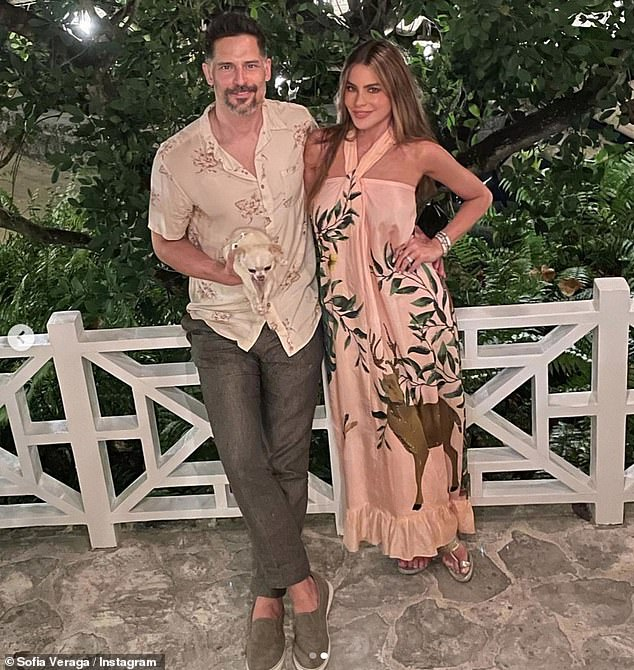 'She hates me!'Sofia Vergara has told how her dream of adopting a dog went horribly wrong once she brought Bubbles home and she instantly preferred her husband Joe Manganiello