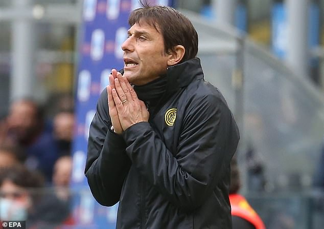 Conte is incredibly stubborn over his tactics and would field his Tottenham players in a 3-5-2