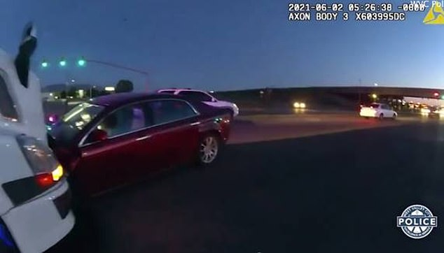 A semi-truck driver thought the driver was under the influence and the nine-year-old then swerved into his path after leaving State Road 201 on to 3200 West