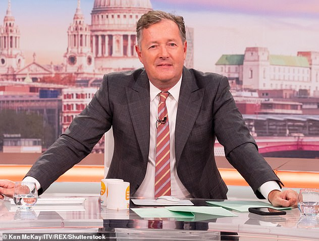 Dropping:Viewership for the ITV breakfast show has been in steady decline since Piers Morgan quit back in March, after peaking at 1.9 million viewers days before he left the show