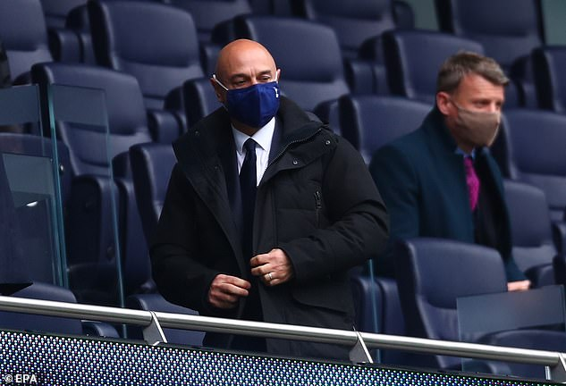 Daniel Levy will be expected to splash the cash for Conte and will need to keep him happy