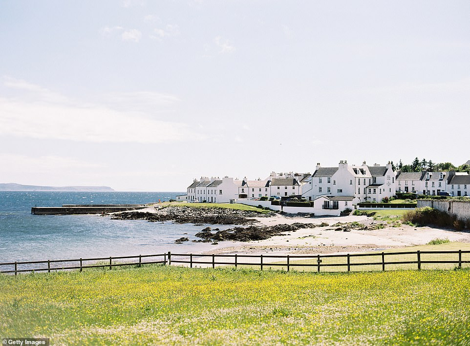 Port Charlotte on Islay, which was joint third in the ranking with a score of 85 per cent. The island received five stars for peace and quiet and four stars for its food and drink