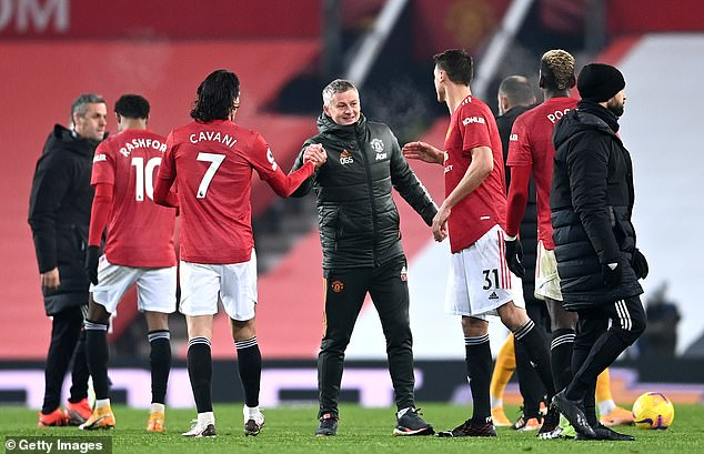 Ole Gunnar Solskjaer's men finished as runners-up, five points ahead of rivals Liverpool