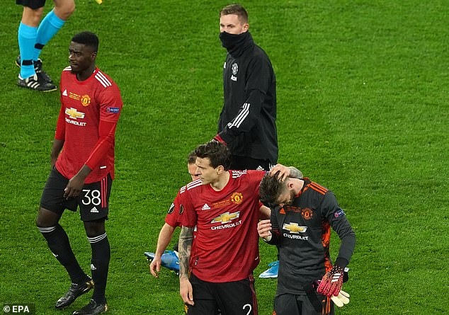 United however did lose the Europa League final against Villarreal on penalties in Gdansk