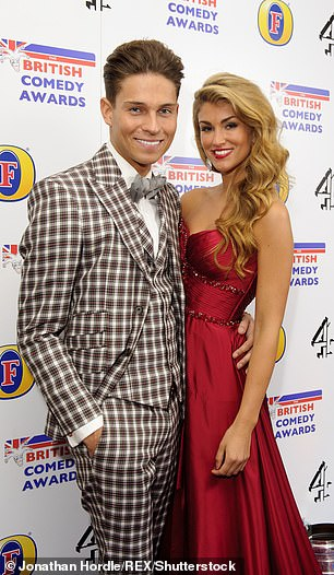 No luck: Joey has had several romances over the years with fellow TOWIE star Sam Faiers, model Amy Willerton (pictured) who he met on I'm a Celebrity, and The Hills star Stephanie Pratt