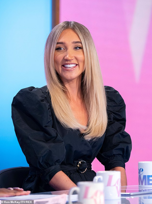 Natural:Megan confirmed her decision to ditch lip fillers on Loose Women because she felt no-one would take her seriously as a recording artist as she discussed her body dysmorphia