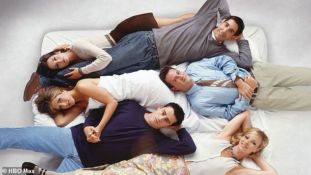 Iconic:Their sitcom ran for 10 seasons on NBC from 1994 until 2004 and made international stars out of all six principals