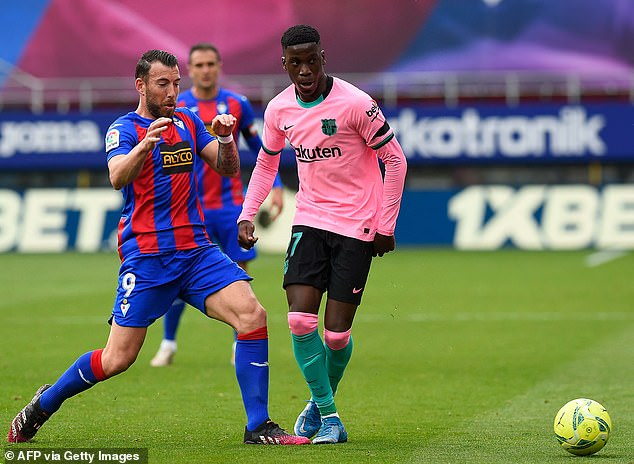 Moriba, who has a buy-out clause of £86m, made 14 LaLiga appearances this season