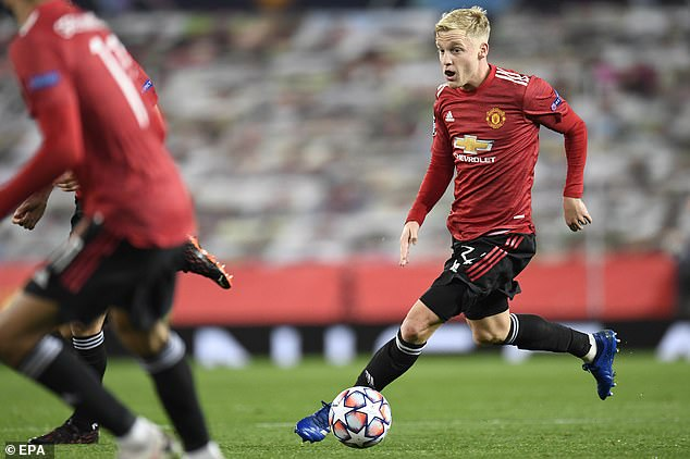 The midfielder has made only four starts since his £40m move to Old Trafford last summer