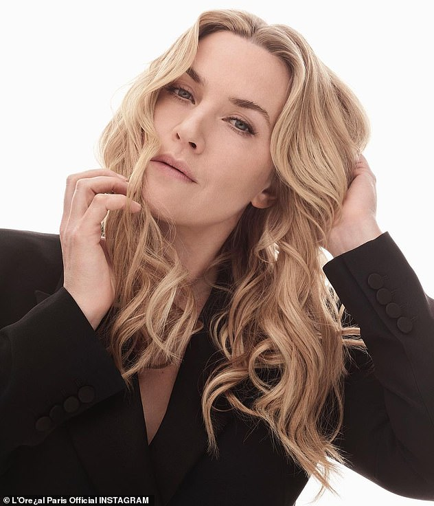 'It's a myth':Kate Winslet has said that the 'Hollywood look is a myth'and that for her the secret to ageing is not being 'so self critical' in a new interview with Vogue