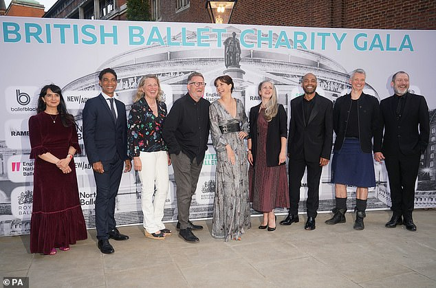 Amazing:The British Ballet Charity Gala, held at the Royal Albert Hall with Darcey and Ore hosting promises a 'unique evening of ballet'