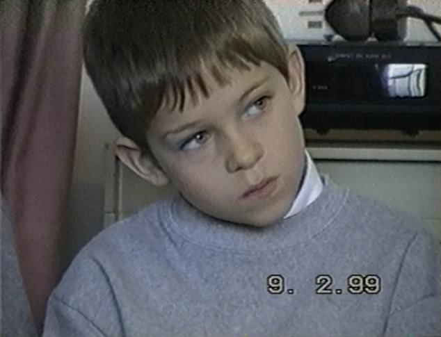 Therapy: Joey (pictured as a child) admitted his therapy journey was not always easy, including one instance where he considered giving up on his sessions