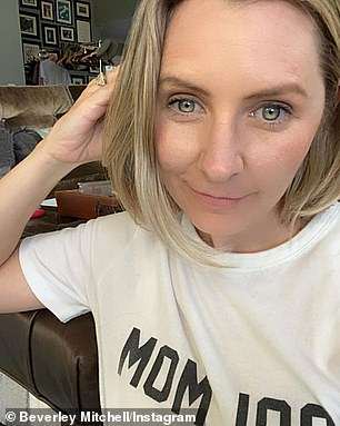 'Filters change everything': Mitchell was able to change her appearance with just a filter