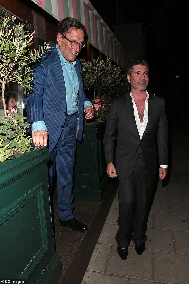 Friends: Simon and Richard, 69, left Harry's bar together