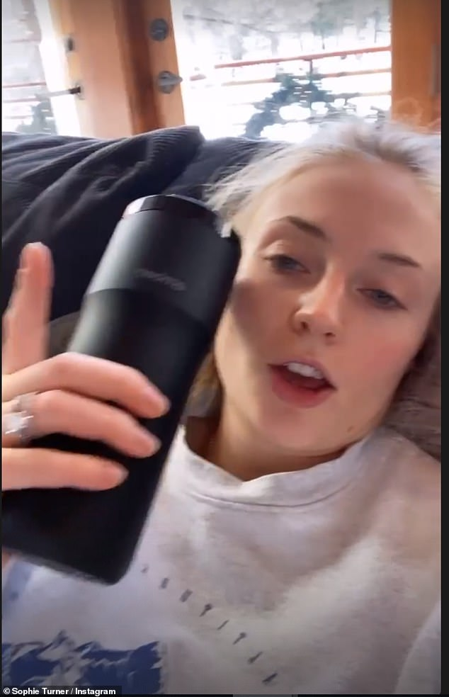 Poignant: Sophie Turner, 25, appeared to have come out as bisexual when she took to her Instagram Stories on Wednesday to celebrate the start of Pride month