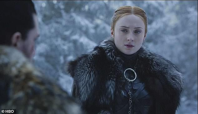 Love is love: Sophie, who played Sansa Stark on Game Of Thrones, previously said: 'Everyone experiments. It's part of growing up. I love a soul, not a gender'