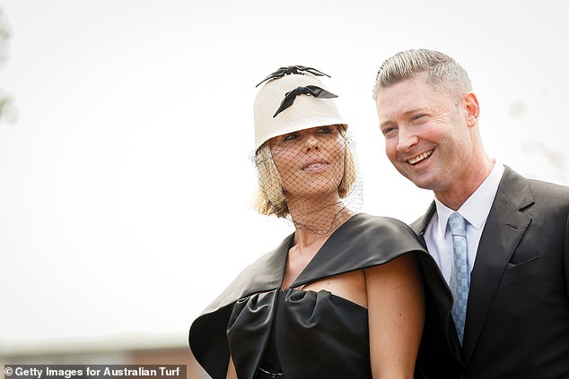 Former fling: Pip, 41, dated the former Australian cricket captain, 40, for about seven months while the Clarkes were separated. Picturedon October 17, 2020, in Sydney