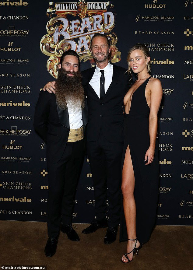 Last seen:Justin and Madeline, 24, (right) were last pictured together at the Million Dollar Beard Ball on May 13