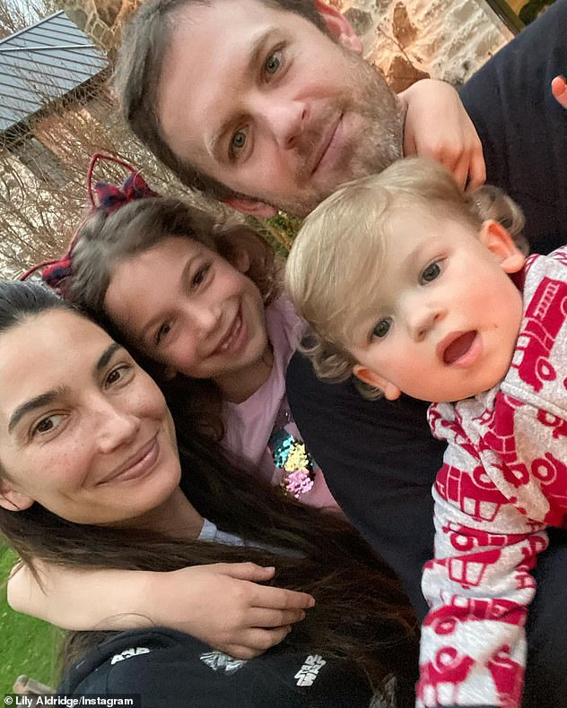 Family: Lily tied the knot with Kings of Leon singer Caleb Followill in 2011 and they live in Nashville with their children Winston, two, and Dixie, eight